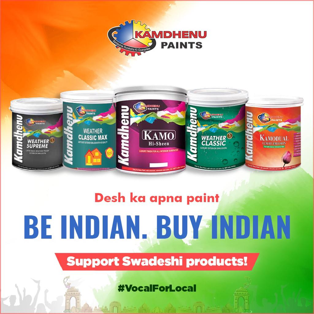 Happy Swoo: Kamdhenu Paints to launch massive social media campaign #Be Indian Buy Indian